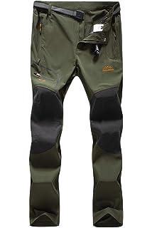 f3d1744335 DAFENGEA Men Outdoor Waterproof Quick Dry Lightweight Hiking Mountain Pants