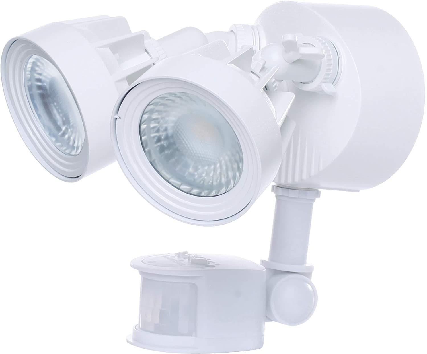 Nuvo 65 108 LED Security Light, 4000K 2,000 Lm Motion Sensor, White