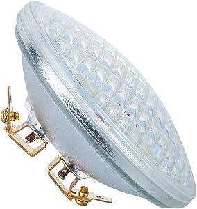 PAR36 LED Landscape Bulb 6W 6000K Cool White, AC/DC12V, 700Lumens 36W Halogen Equivalent, Water Resistant, PAR36 LED Bulb for Landscape Lighting, Off-Road Vehicles (Pack of 1)