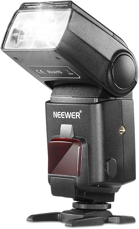 Neewer TT660 - Flash con Zapata para Canon/Nikon/Pentax SLR ...