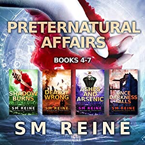 Preternatural Affairs, Books 4-7 Audiobook