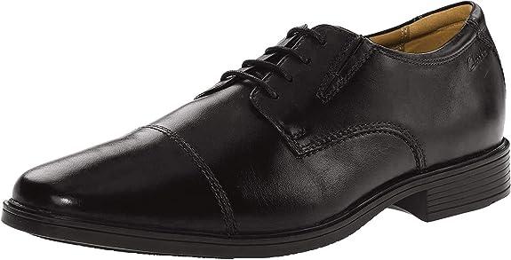 1. Clarks Men's Tilden Cap Oxford Shoe