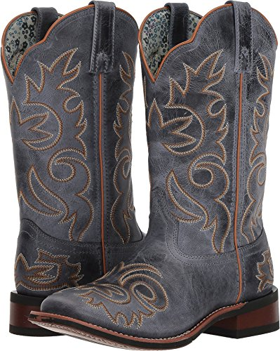 Blue Stockman Red 5679 Womens Western Eva Boots Broad Square Laredo fFxqzYgnwn