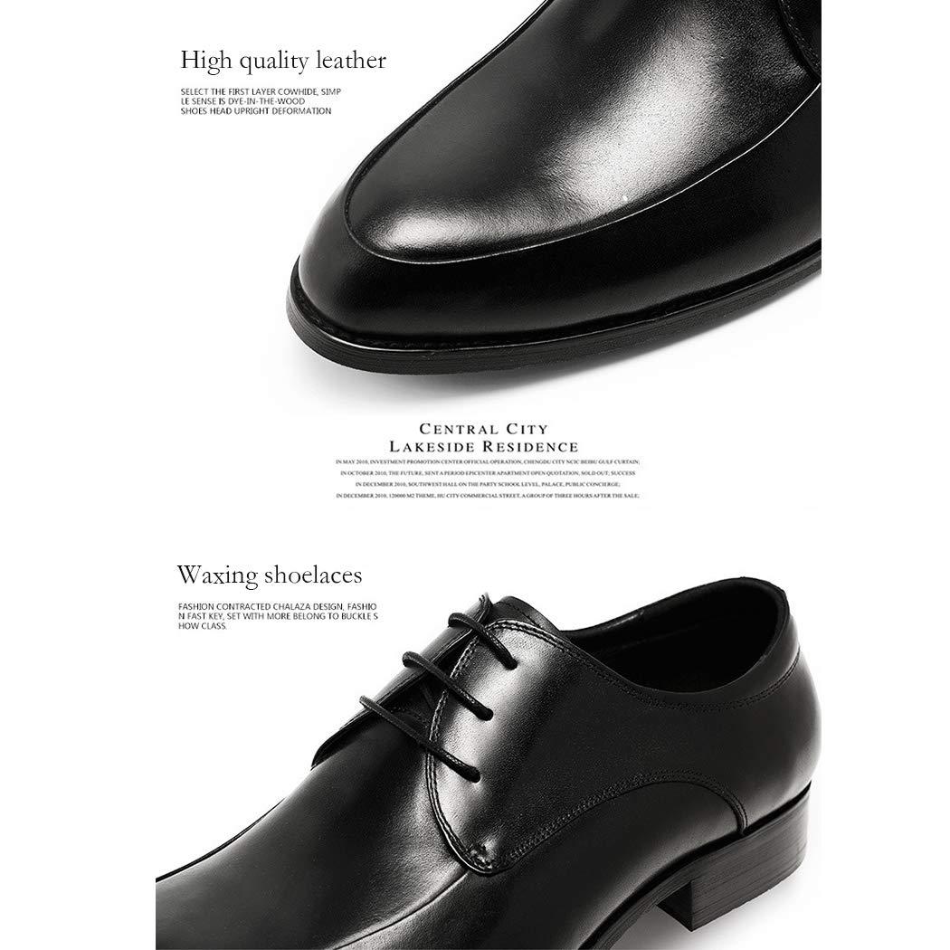 Zapatos De Cuero De Los Hombres De De Moda De De Encaje En Punta De Los Zapatos De Negocios Del Partido Vestido De Novia Zapatos De Gama Alta Caballero 499073