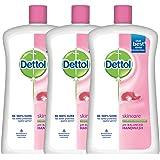 Dettol Skincare Liquid Soap Jar - 900 ml (Pack of 3)