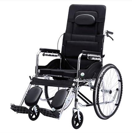 Silla de ruedas Plegable, sentada Multifuncional, Silla de ...