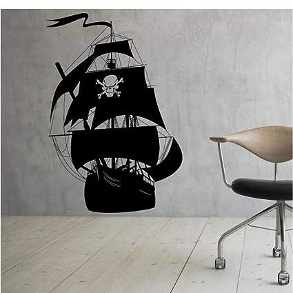 Restaurante Barco pirata pegatinas de pared decoración para el ...