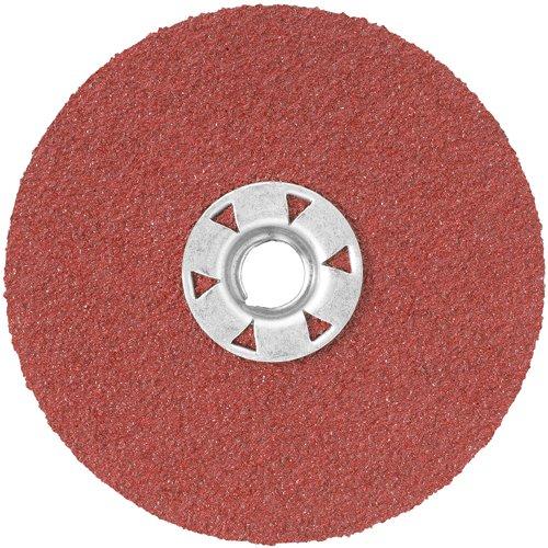 DEWALT DARC1G0215 4-1/2-Inch 24G HP Quick Lock Fiber Disc, 15-Pack