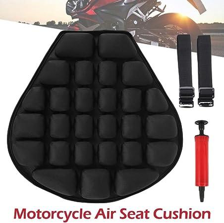 Motorrad Sitzkissen Luft Druckentlastung Luftpolster 3d Motorrad Sitzbank Kissen Mit Wasser Gefüllt Für Cruiser Satte 37 5 X 36 Cm Auto