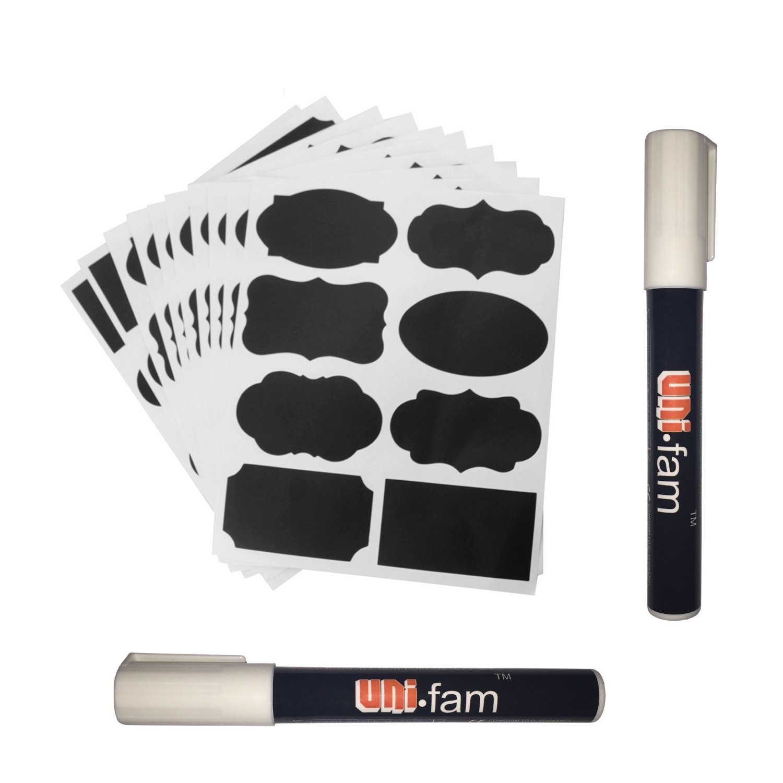 80 Premium Chalkboard Labels +...