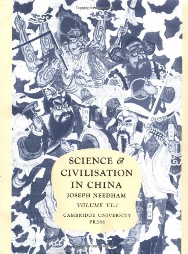Science and Civilisation in China: Volume 6, Biology and Biological Technology; Part 1, Botany (Plant Biology 1st Edition)