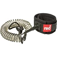 Red Paddle Co SUP Stand Up Paddle Boarding Race 8' Coiled Leash/Strap - Weight: 10 oz
