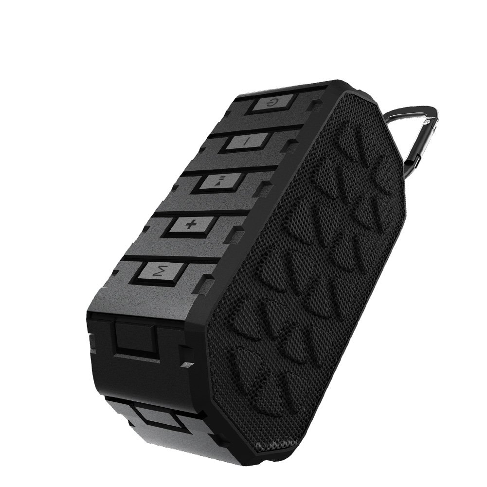 Portable Bluetooth Speaker, Acekool Outdoor Bluetooth Speaker with 12-Hour Playtime,IPX5 Water Resistant, 66- Foot Bluetooth Range & Built-in Mic for iPhone, Samsung and More ACE-BS-10W