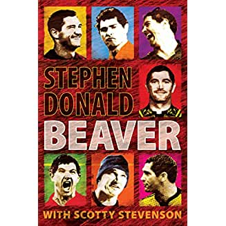 Beaver - Stephen Donald rugby autobiography bookcover