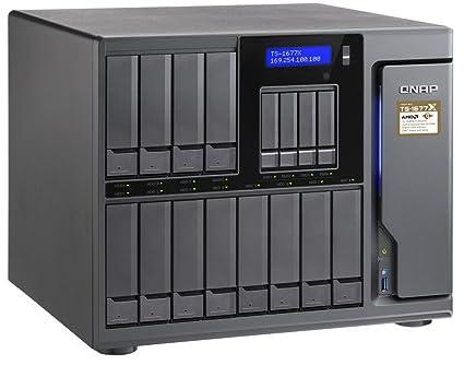 QNAP TS-1677X-1700-16G-US 12 (+4) Bay High-Capacity 10GbE