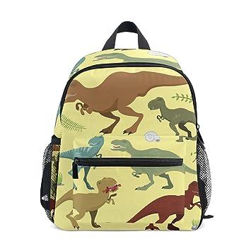 Mochilas para niños, diseño de dinosaurios, mochila escolar para niños y niñas: Amazon.es: Hogar