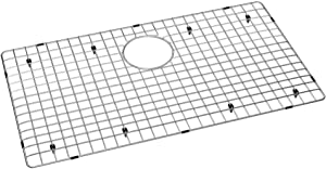 MR Direct H01-DE-G Stainless Steel Kitchen Sink Grid, comparable with the Décor Star KBG-H01, Chrome finish