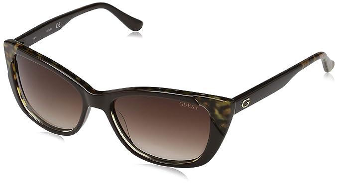 Guess Mujer Gafas de sol, Negro (Black), 55: Amazon.es: Ropa ...