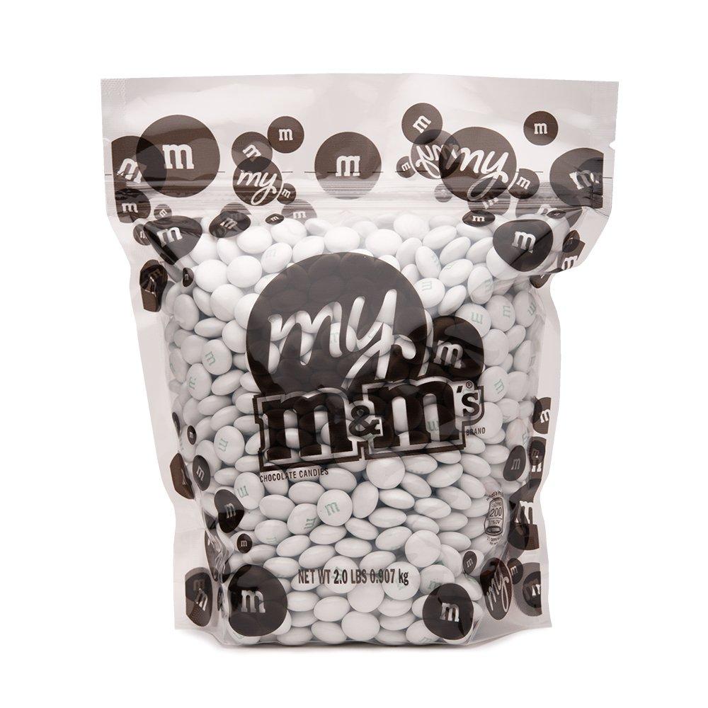 Amazon.com : White M&M\'S Bulk Candy Bag (2lb) : Grocery & Gourmet Food