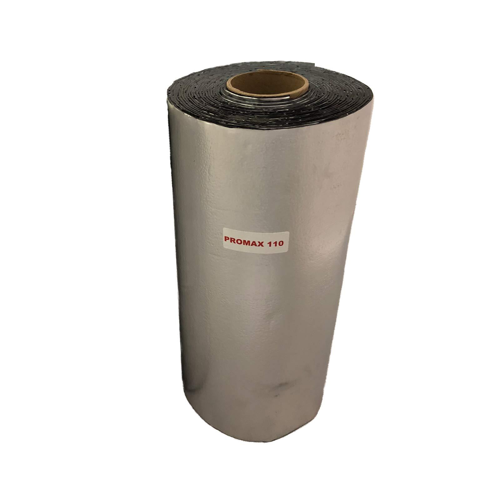 FatMat ProMax 110mil Self-Adhesive Sound Deadener with Install Kit (75 Sq Ft)