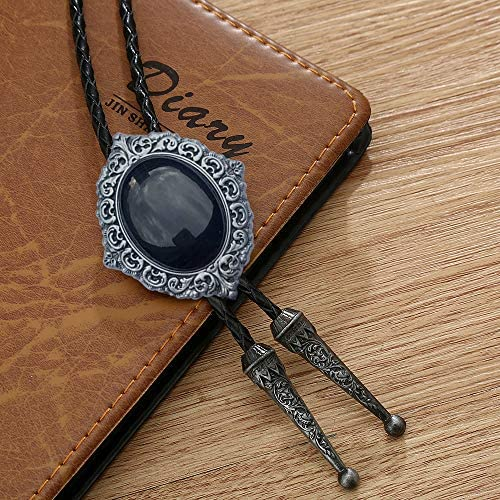 KDG Fashion bolo ties for men western turquoise indian cowgirl party accessories necktie