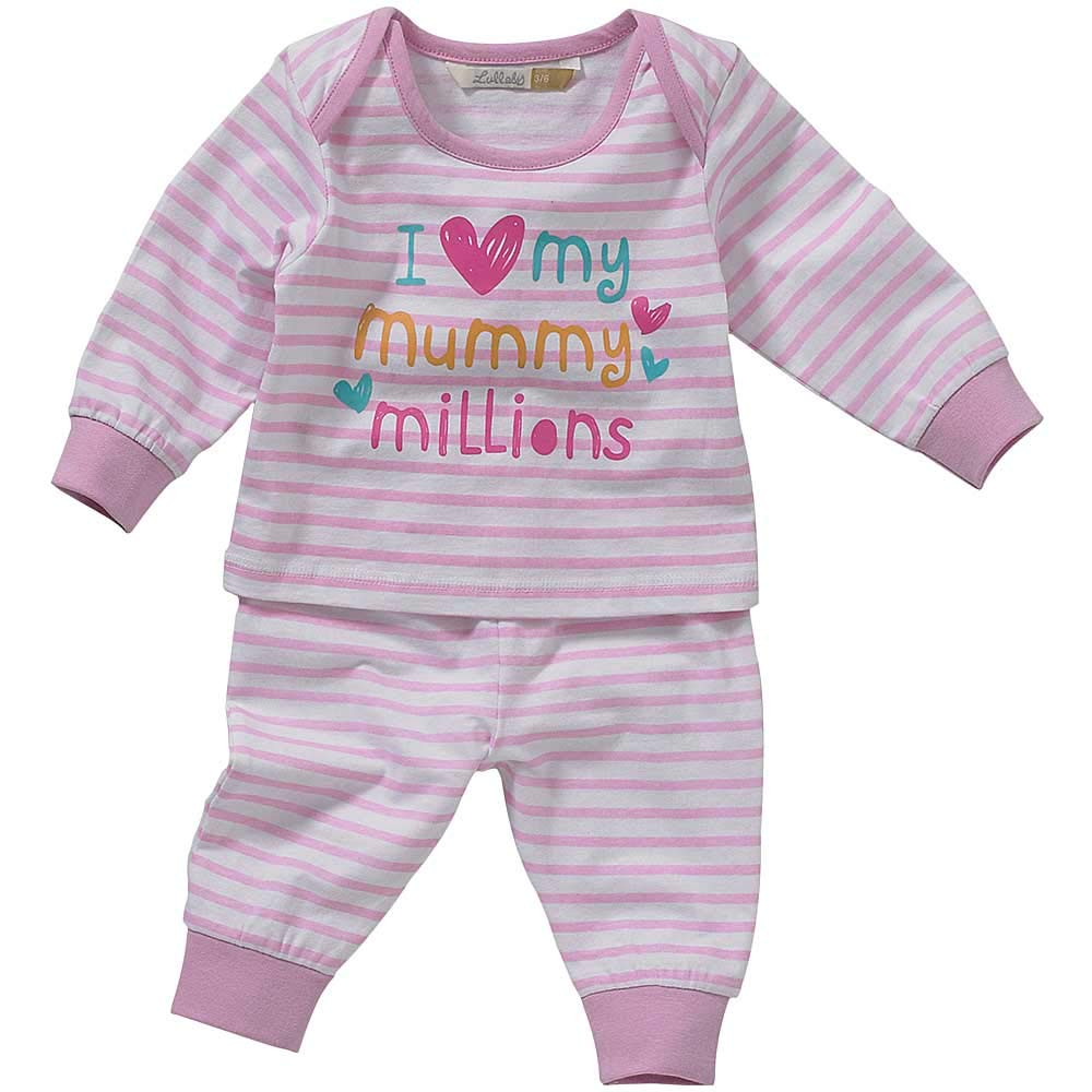 Get Wivvit Girls Baby Pack of 2 Born to Sparkle Unicorn Cotton Pyjamas Sizes from Newborn to 36 Months