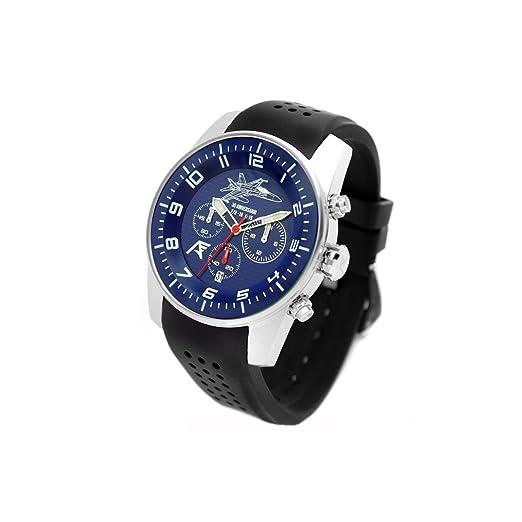 Reloj AVIADOR AV-1204 - Reloj piloto Hombre WR 5 ATM, Edición Especial 30