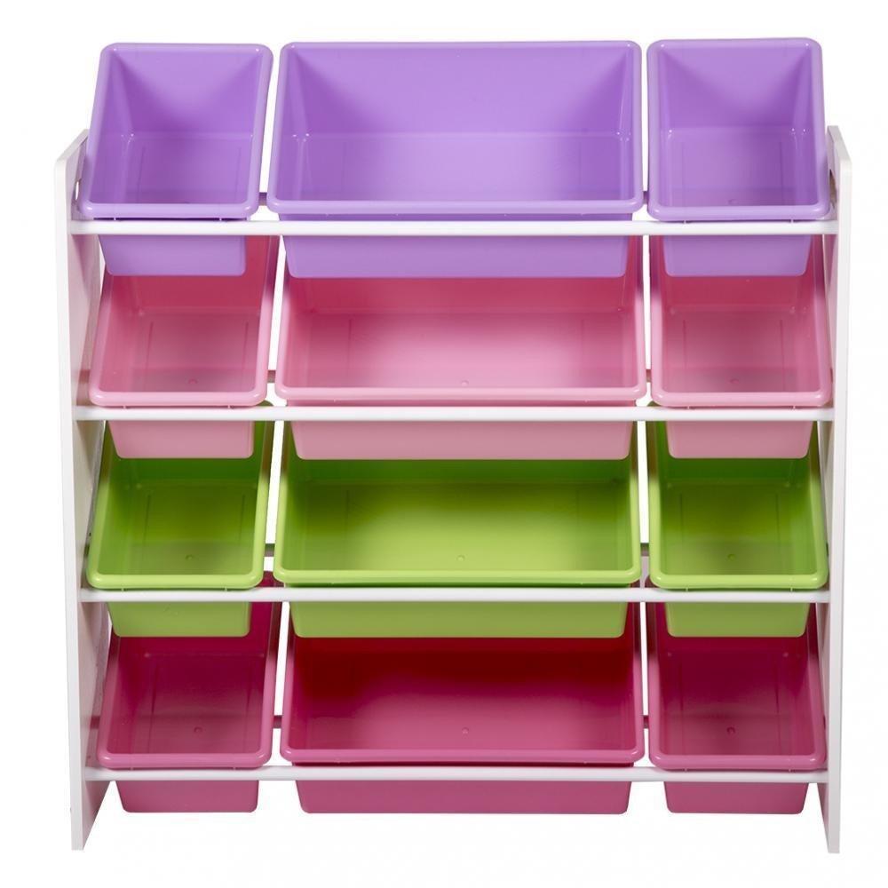 Kids Toy Storage Organizer with Plastic Bins, Storage Box Shelf Drawer 8526