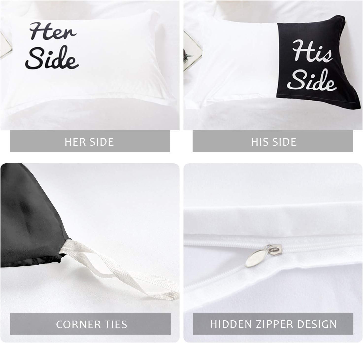 His Side Her Side Comforter Set - Couple Bedding Set