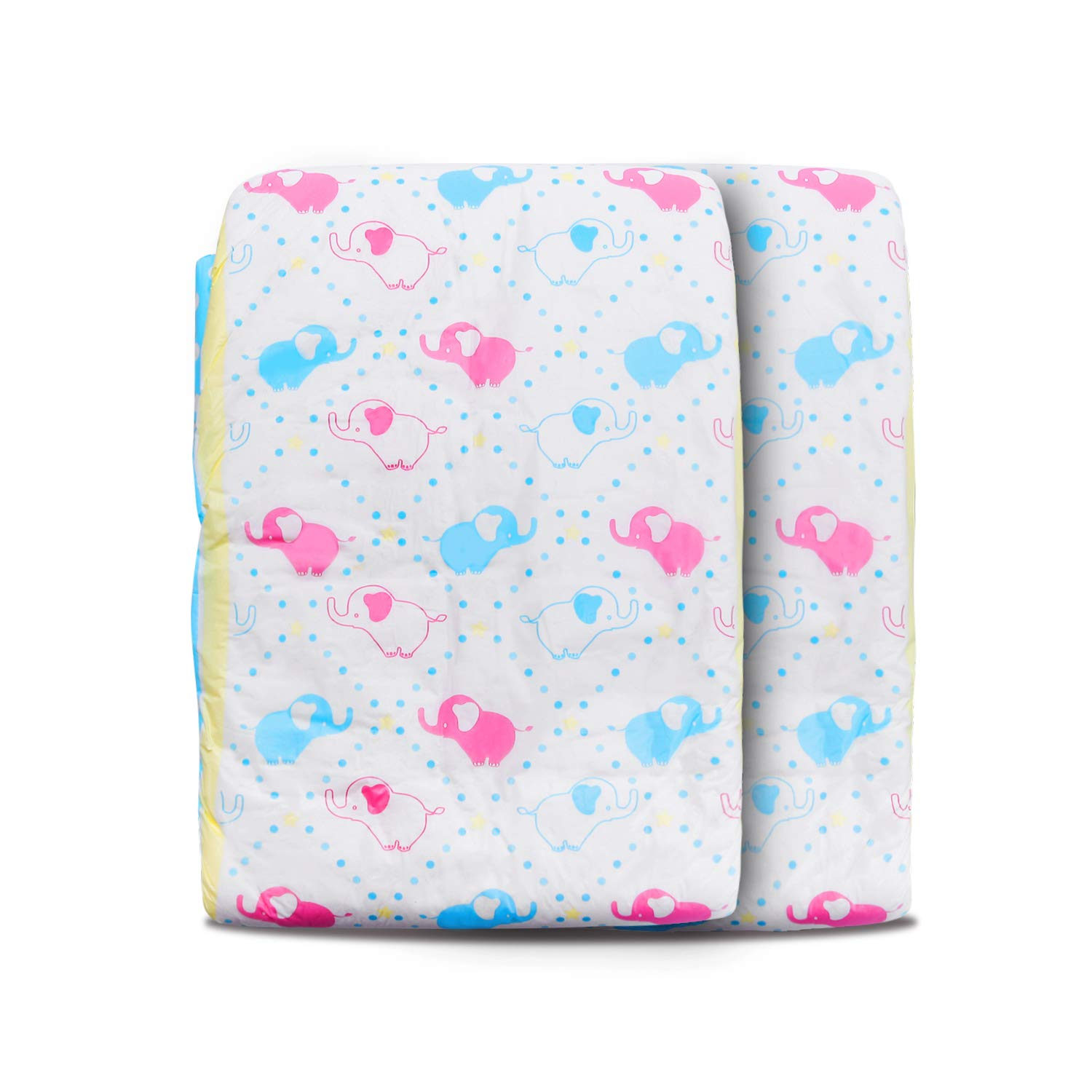 LittleForBig Printed Adult Brief Diapers 2 Pieces-Little Trunks Medium