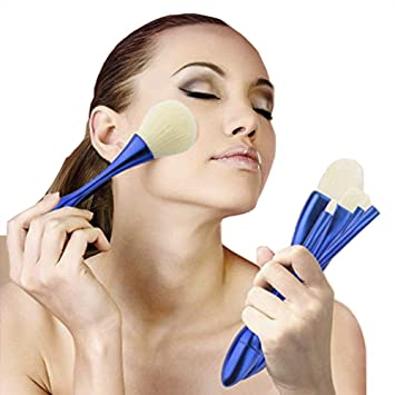Amazon Com Kry Kabuki Brushes 5pcs Face Makeup Brush Set Super Soft