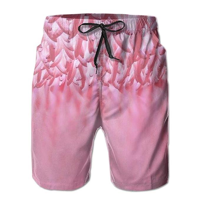 ef0c0039c0 CDLUGYZ Pink Banana Men's Beach Board Shorts Quick Dry Summer Casual  Swimming Soft Fabric with Pocket   Amazon.com
