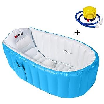 Samber Baignoire Gonflable Bebe Pour Douche Bassin Enfant Bain