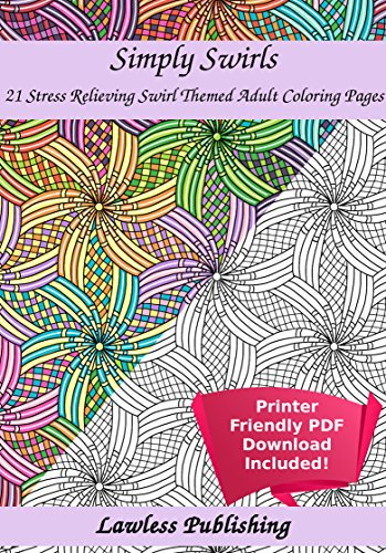 21 Swirl Themed Coloring Pages For Adults Of The Most Elegant Adult