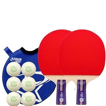 xianw Tenis de Mesa Ping Pong Set - Pack de 2 Palas Premium ...