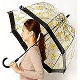 フルトン(FULTON) 雨傘(ビニール傘)【英国王室御用達】(レディース)レース柄