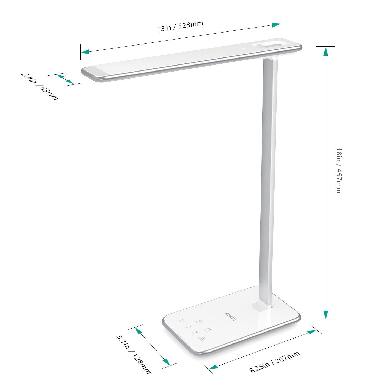 Lámpara escritorio Aukey LT-T7 por solo 35,99€