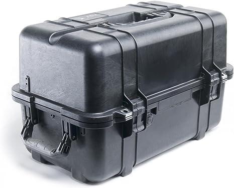 PELI 1460TOOL Caja de Herramientas Profesional Resistente a los Golpes y estanca, IP66 Resistente al Agua y al Polvo, Fabricada en EE.UU, with Adjustable and Removable Tray Dividers, Color amar33L: Amazon.es: Electrónica