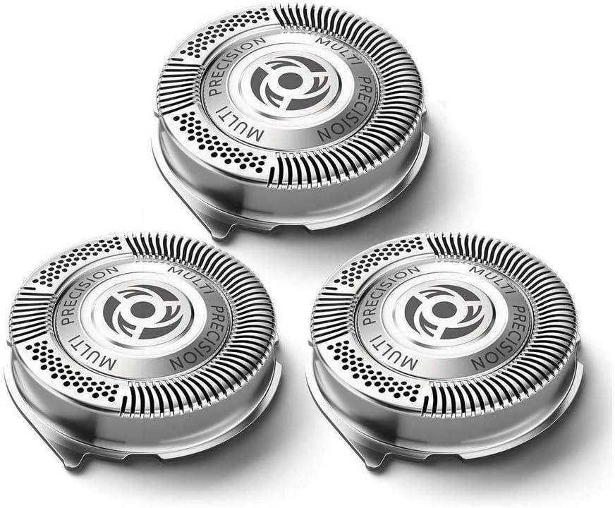 Cuchillas de repuesto 3PC SH50/50 para las afeitadoras eléctricas serie 5000 de Philips