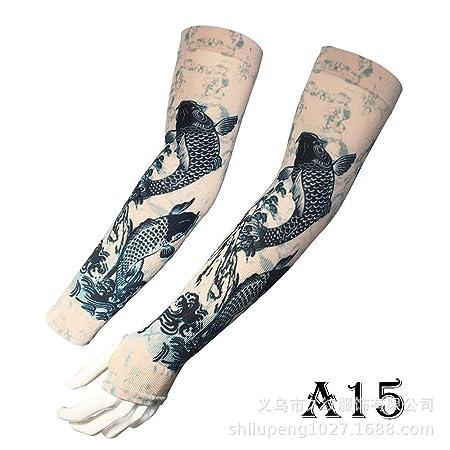 tzxdbh Tattoo Ice Sleeve La impresión Digital de 360 Grados ...