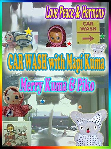 Clip: Car Wash with Mapi Kuma: Mapi Kuma, Merry, Piko, Masashi Nagadoi