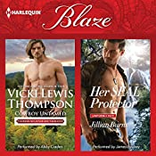 Cowboy Untamed & Her SEAL Protector: Thunder Mountain Brotherhood | Vicki Lewis Thompson, Jillian Burns