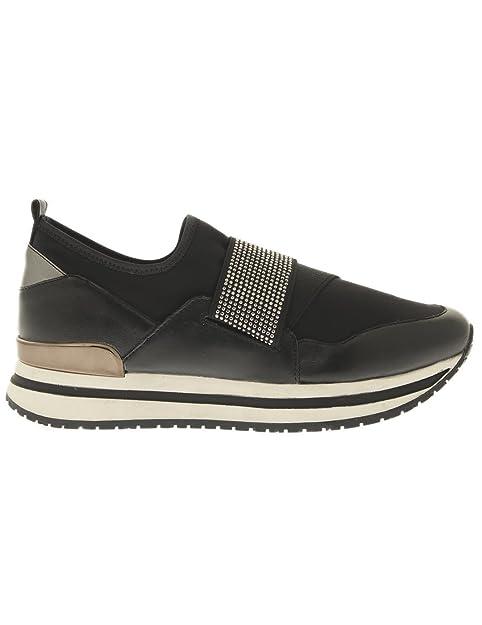 Noir Chaussures Noires Strass 41 ALTRAOFFICINA L0302X srxhdQCt