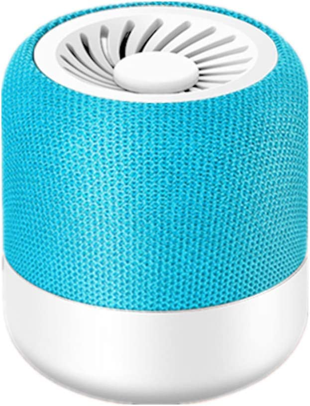SP-M7 V4.2 Mini Portable Bluetooth Speaker,Double Helix Surround Stereo for Home,Outdoor and Travel, HD Sound and Bass, Wireless Portable Speaker for Phone,Tablet,TV,Support Android and iOS,Blue
