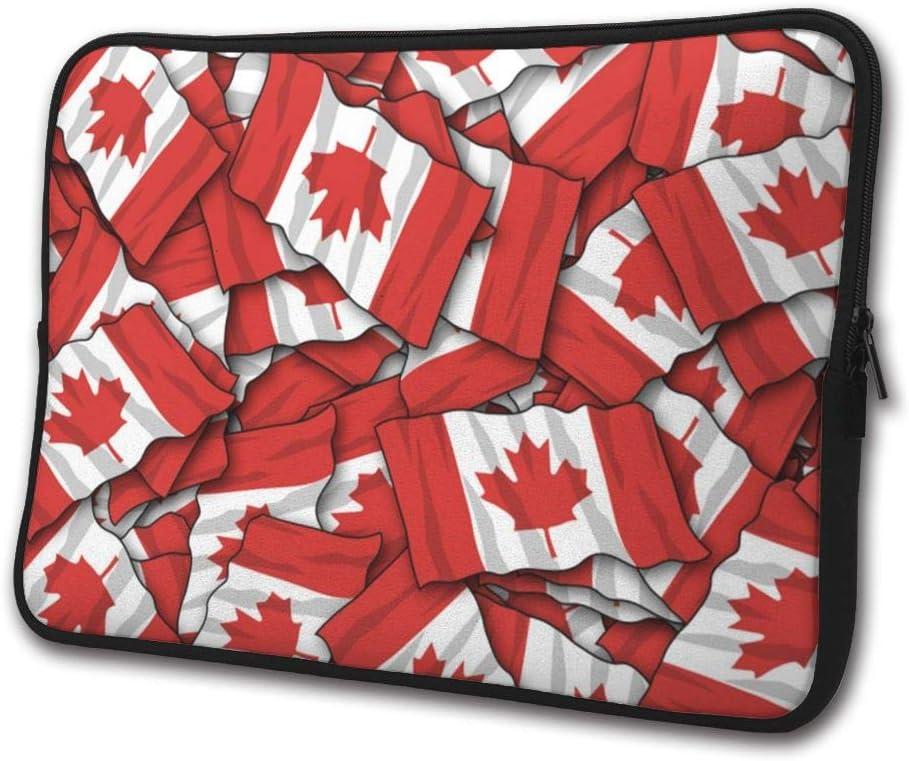 Canadian Flag Pattern Business Briefcase Notebook Computer Bag//Handbag for 13//15 Inch Laptop