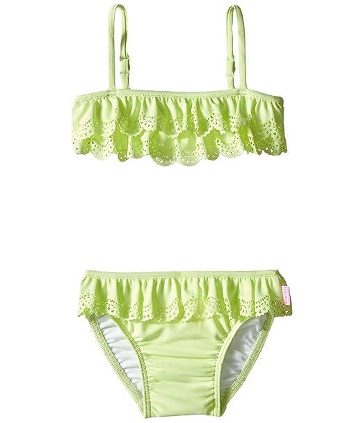 bccefad48ec83 Seafolly Kids Baby Girl's Jewel Cove Mini Tube Bikini  (Infant/Toddler/Little Kids