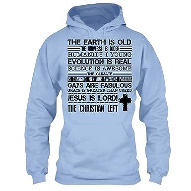 Christian T Shirt Design Ideas   Amazon Com Christian T Shirt We Are The Christian Left Cool T
