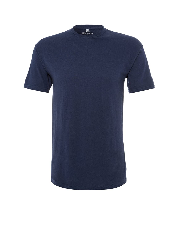 Lower East Herren T-Shirt mit Rundhalsausschnitt, 5er Pack: Amazon.de:  Bekleidung