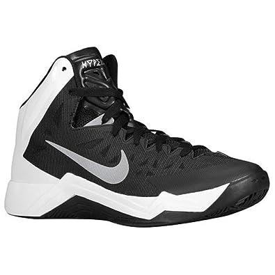 new styles 7fb6d 09c3a Amazon.com   Nike Hyper Quickness Women s Basketball Shoe (A100,  Black White)   Basketball