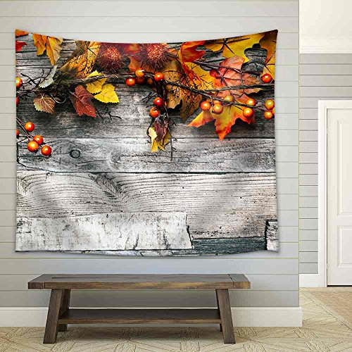 Autumn Background Fabric Wall
